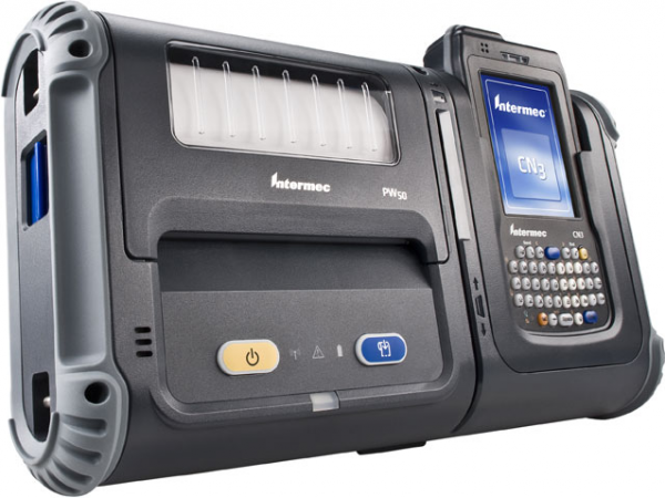 Mobile Label Printer Intermec PW50 | DATASCAN, s.r.o.