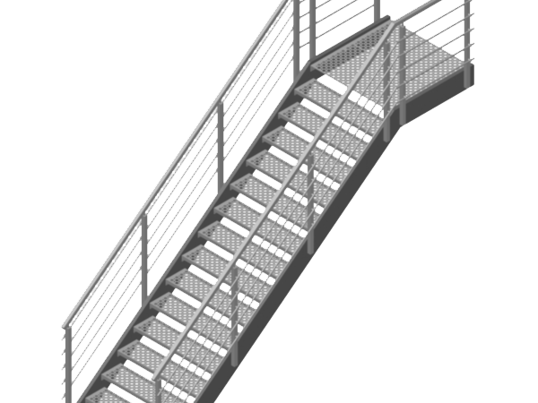 Metal Staircases and Railings on Bespoke | ADH-PLOTY s.r.o.