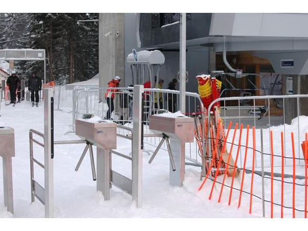 Check-in turnstiles for ski lifts | ELVIS